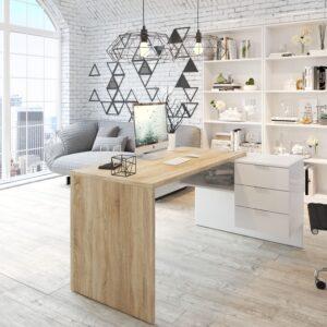 Mesa despacho reversible con buc Style