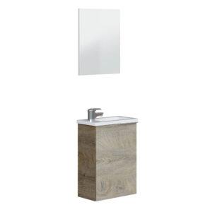 Mueble de lavabo con espejo y lavabo incluido