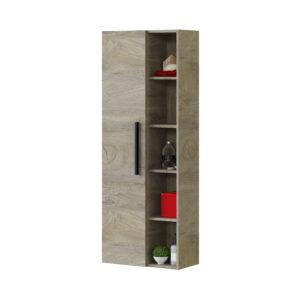 Columna de 1 puerta y 7 estantes